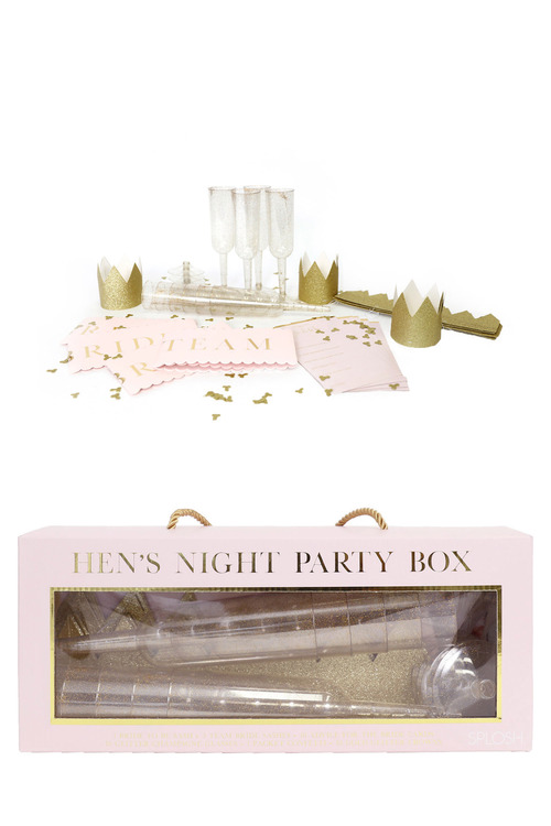 Splosh Wedding Hen's Night Party Box
