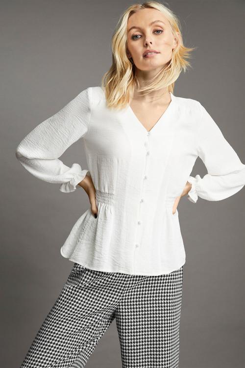 Emerge Elastic Waist Detail Shirt