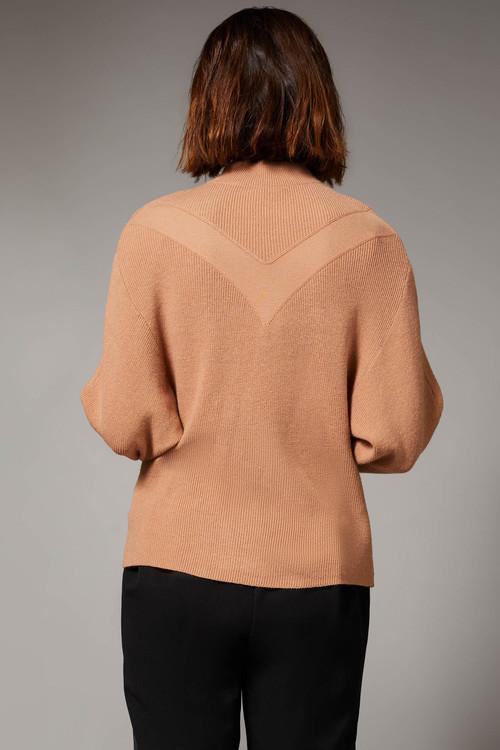 Emerge Stitch Detail Batwing Sweater