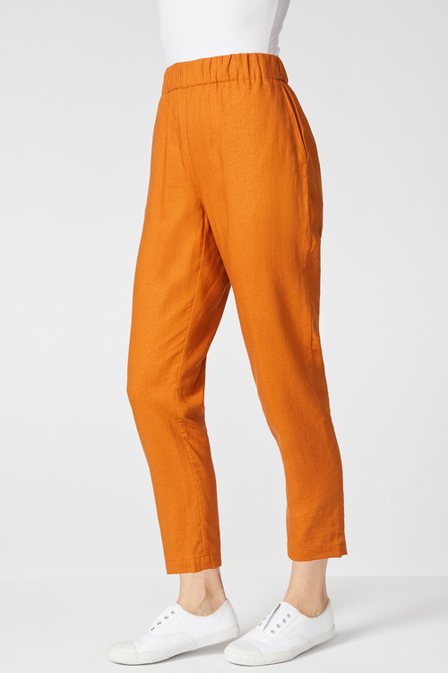 Emerge Linen Blend Tapered Pant