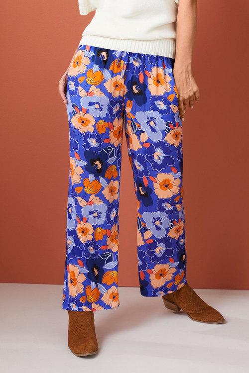 Emerge Printed Wide Leg Pant