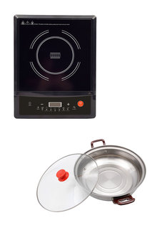 Kitchen Couture Induction Cooker with Bonus Pot - 258319