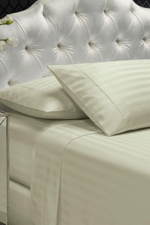 Royal Comfort Damask Stripe Cotton Blend Sheet Set