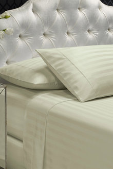 Royal Comfort Damask Stripe Cotton Blend Sheet Set - 258320