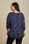 Sara Printed Sweater