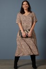Sara Tiered Midi Dress