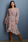 Sara Ruffle Dress