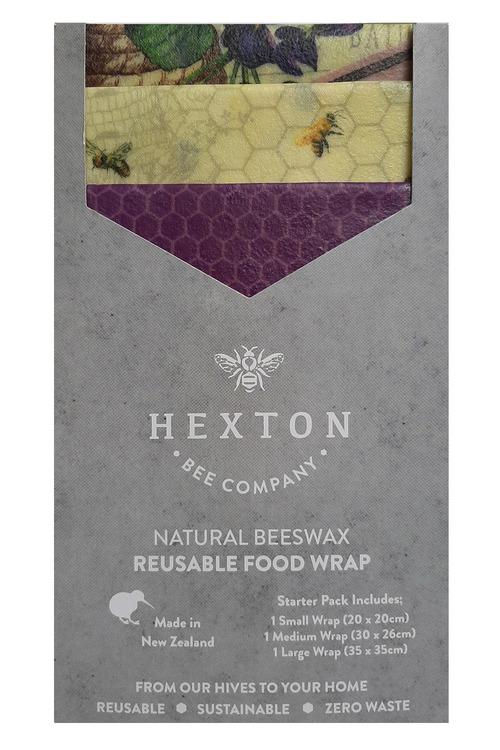 Hexton Beeswax Wraps Assorted Starter Pack