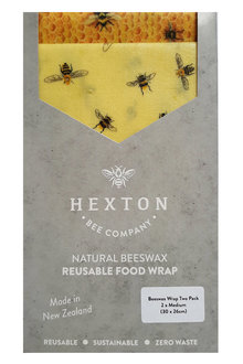 Hexton Beeswax Wraps Assorted Set of Two - 258374