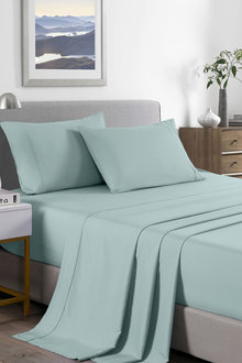 Royal Comfort Bamboo Blend Cooling 2000 Thread Count Sheet Set - 258382