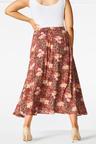 Sara Printed Midi Skirt