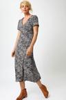 Capture Wrap Midi Dress