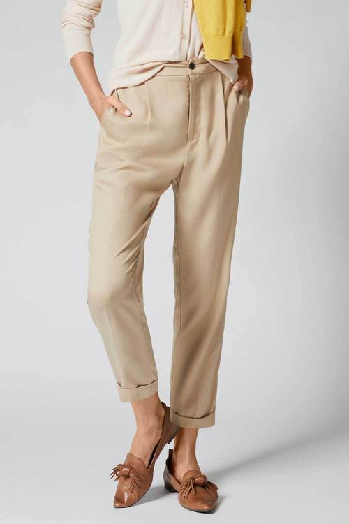 Emerge Lyocell Pleat Front Pant