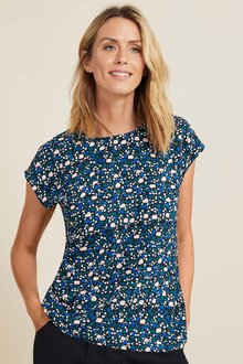 Capture Printed Shell Top - 258524