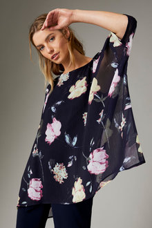 Capture Printed Blouse - 258525