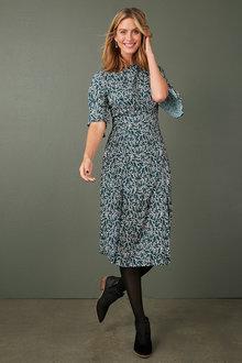 Capture Printed Midi Dress - 258526