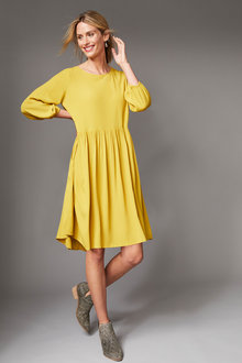 Capture Gather Waist Dress - 258531