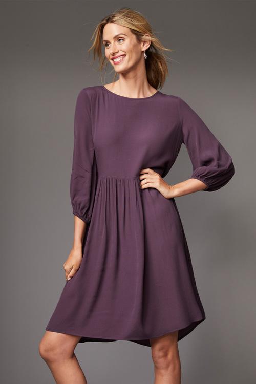 Capture Gather Waist Dress