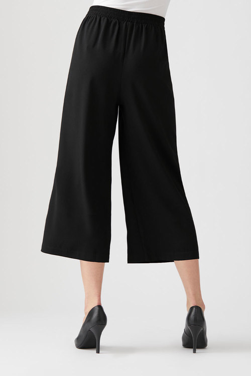 Capture Pleat Front Pull on Culotte