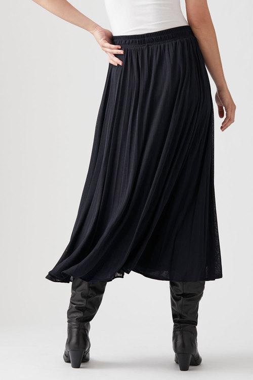 Capture Knit Pleated Skirt