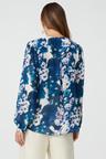 Grace Hill V Neck Chiffon Shirt