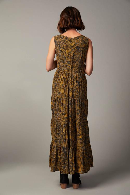 Grace Hill Tiered Maxi Dress
