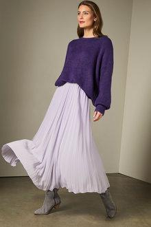 Grace Hill Pleated Skirt - 258585