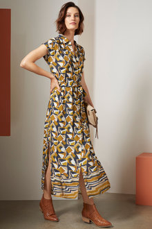 Grace Hill Maxi Shift Dress - 258590