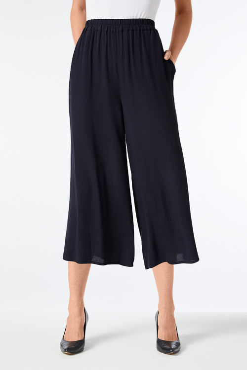 Grace Hill Pull on Drapey Culotte