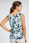 Grace Hill Printed Sleeveless Top