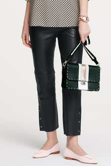 Heine Leather Snap Trouser - 258601