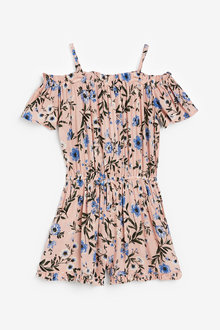 Next Cold Shoulder Playsuit (3-16yrs) - 258633