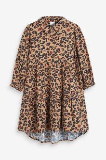 Next Animal Shirt Dress (3-16yrs) - 258646