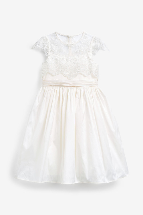 Next Lace Bodice Bridesmaid Dress (3-16yrs)