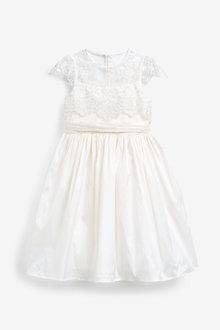 Next Lace Bodice Bridesmaid Dress (3-16yrs) - 258655