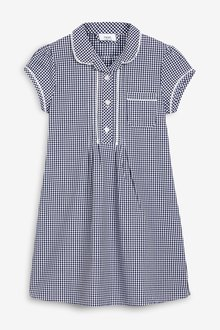 Next Plus Fit Gingham Dress (3-14yrs) - 258712