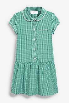 Next Drop Waist Gingham Dress (3-14yrs) - 258713