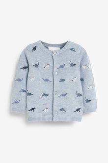 Next Dinosaur Embroidered Cardigan (0mths-3yrs) - 258717