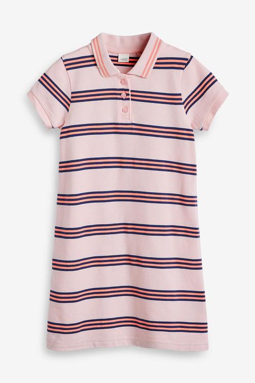 Next Polo Stripe Dress (3-16yrs)