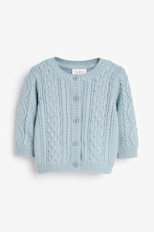 Next Cable Knit Cardigan (0mths-3yrs)