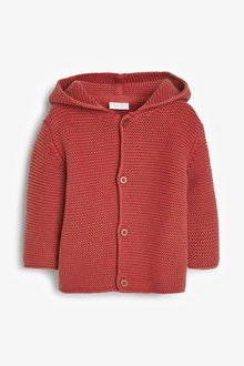 Next Bear Hooded Cardigan (0mths-3yrs) - 258721