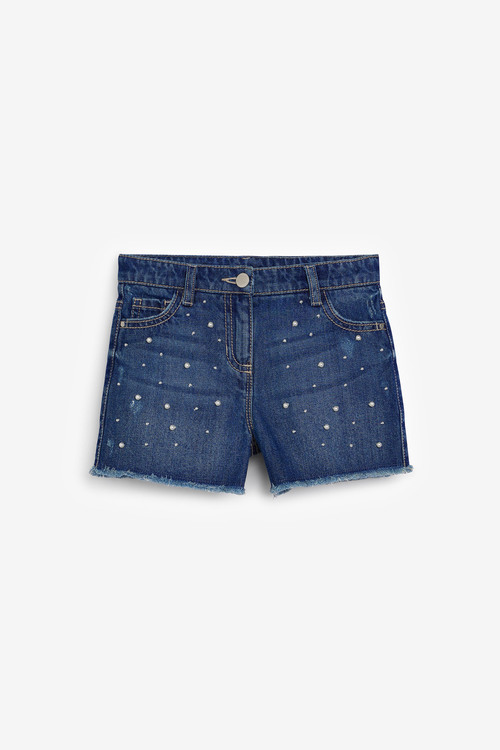 Next Pearl Denim Shorts (3-16yrs)