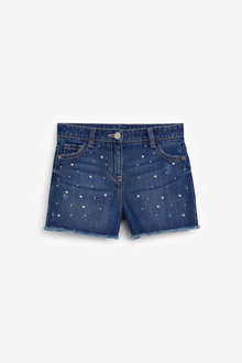 Next Pearl Denim Shorts (3-16yrs) - 258753