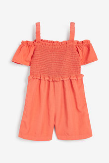 Next Ruched Sleeveless Playsuit (3-16yrs) - 258764