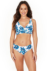 Nip Tuck Swim Hakuna Matata Cross Over Bikini Set Swimsuit