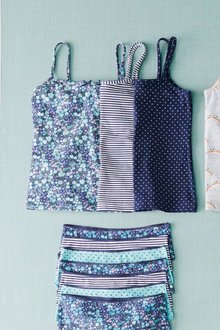 Next 3 Pack Floral Camis (1.5-16yrs) - 258837