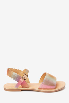 Next Leather Scalloped Sandals (Older) - 258855