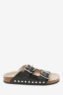 Next Buckle Corkbed Sandals (Older) - 258856