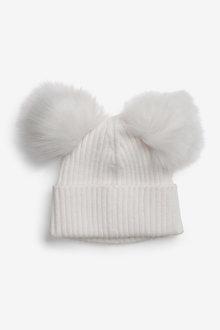Next Double Pom Beanie Hat (Older) - 258863
