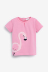 Next Flamingo T-Shirt, Leggings And Headband Set (0mths-2yrs)